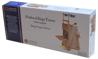 Medieval Siege Tower Wooden Kit - Earth Toys - 2