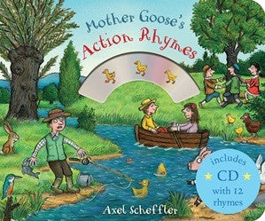 Mother Goose's Action Rhymes BB + CD - Earth Toys
