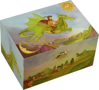 Enchantmints Friendly Dragon Music Box - small
