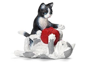 Schleich - Kittens with Ball of Yarn - Earth Toys