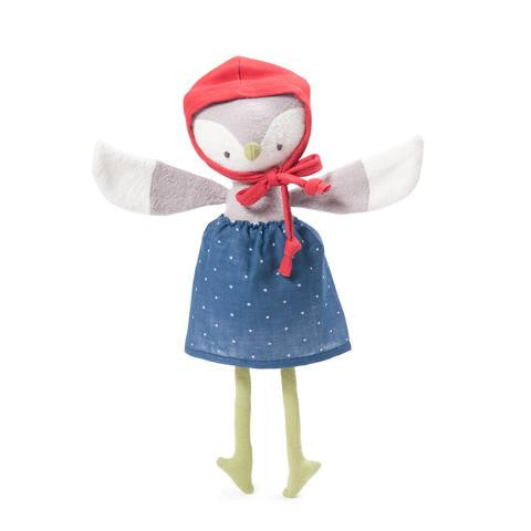 Lucy Owl - Earth Toys - 1