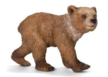 Schleich - Grizzly Bear Cub - Earth Toys