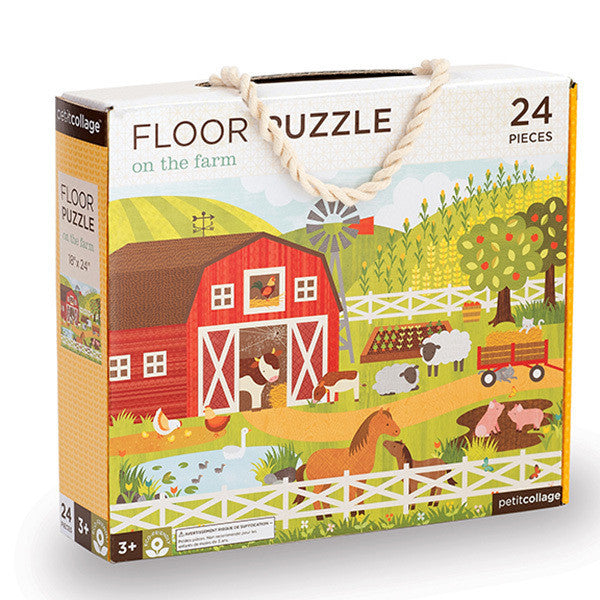 Floor Puzzle - On the Farm - Earth Toys - 1