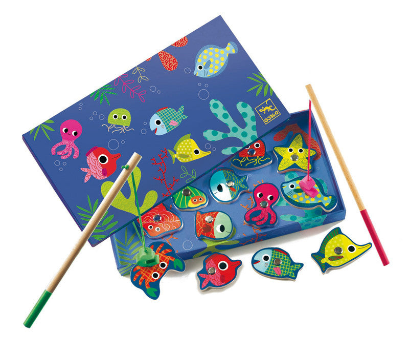 Magnetic Coloured Fishing - Earth Toys