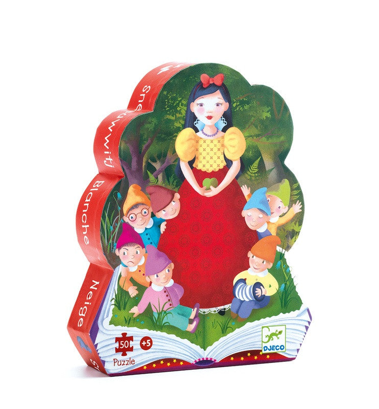 Snow White 50 pc Silhouette Puzzle