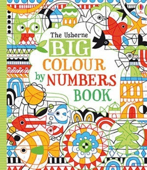 Big Colour by Number Book - Earth Toys