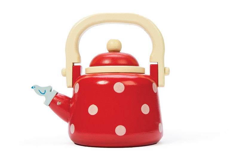 HoneybakeWooden Dotty Kettle - Earth Toys