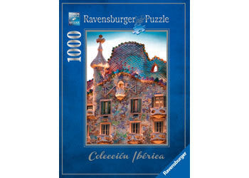 Casa Batlló, Barcelona Puzzle 1000 Pc - Earth Toys - 1