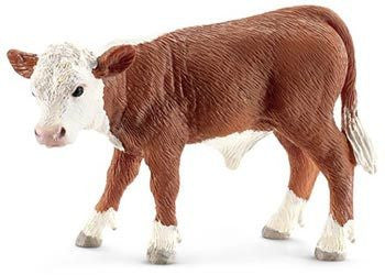 Schleich - Hereford Calf - Earth Toys