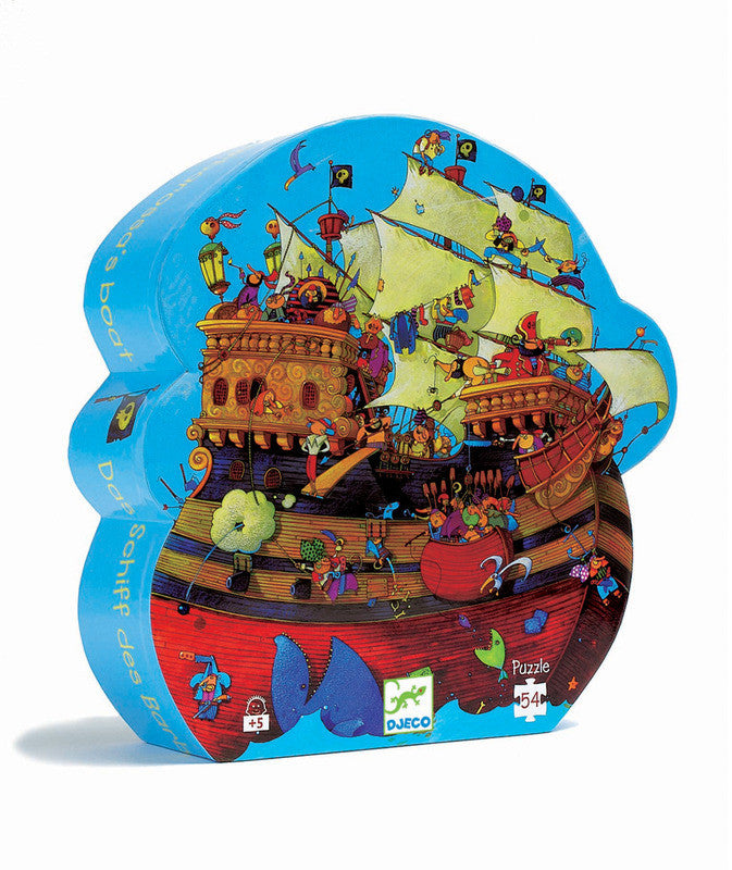 Barbarossa Boat Puzzle 54pc - Earth Toys - 1