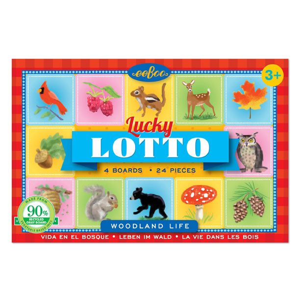 Eeboo - Woodland Life - Lucky Lotto