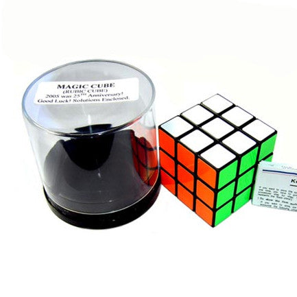 Magic Cube 3x3 (Rubik Cube) - Earth Toys