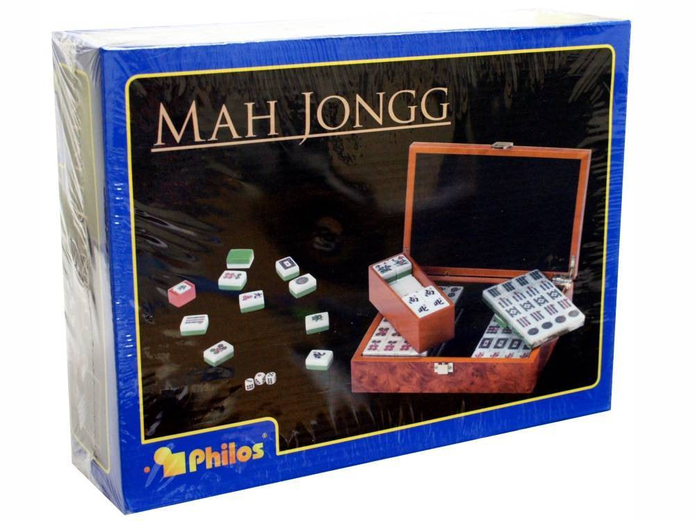 Mah Jongg in Wooden Case - Earth Toys