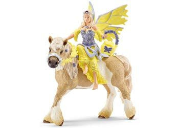 Schleich - Sera in Festive Dress on Horse - Earth Toys