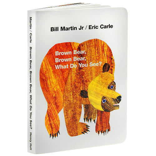 Brown Bear Board Book - Earth Toys