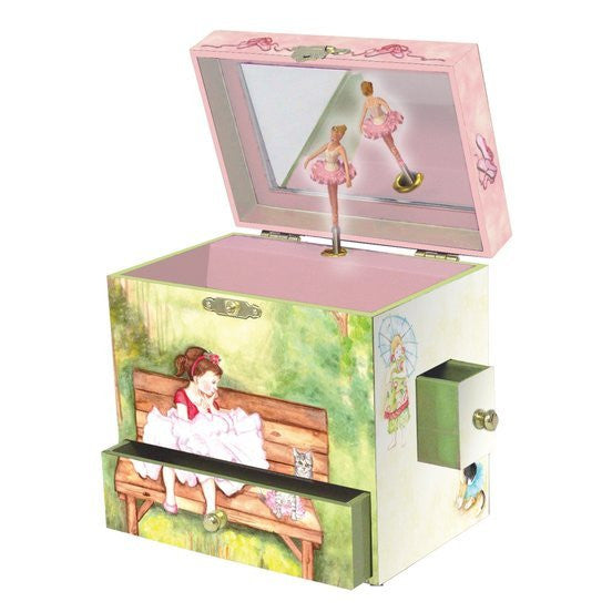 Ballerina Two Times Tutu Music Box - Earth Toys - 1