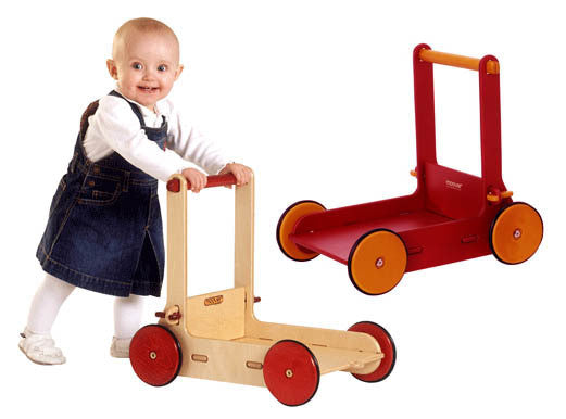 Moover Wooden Baby Walker - Earth Toys - 2