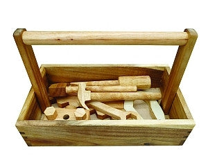 Natural Timber Tool Set - Earth Toys