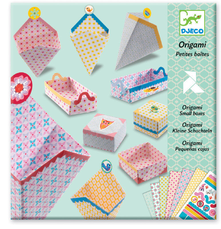 Origami Boxes - Earth Toys - 1