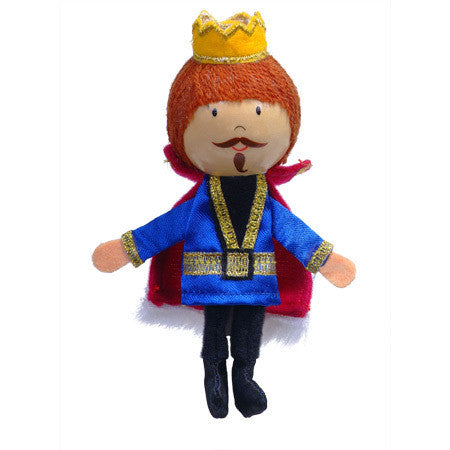 Fiesta Crafts - King Finger Puppet - Earth Toys