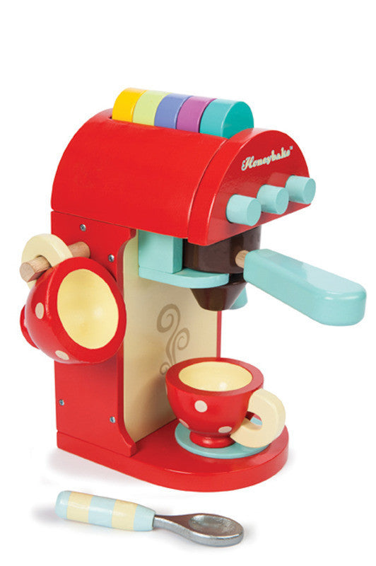 Le Toy Van - Chococcino Coffee Machine - Earth Toys - 1