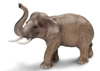 Schleich - Asian Elephant Male - Earth Toys