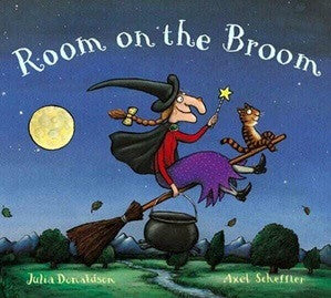 Room on the Broom - Board Book