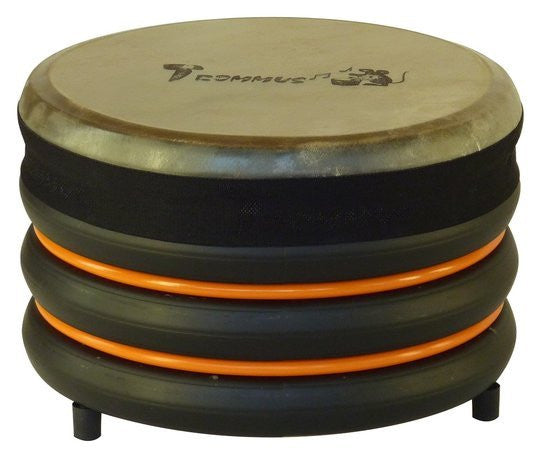Trommus Drum 18 x 28 cm Orange - Earth Toys