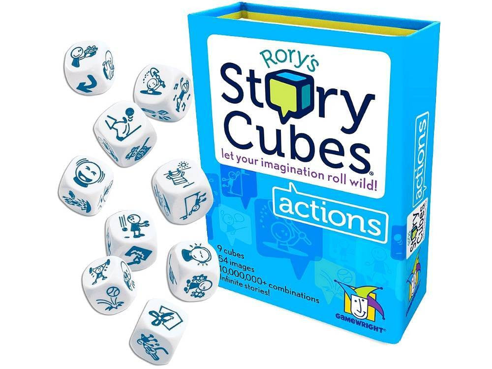 Rorys Story Telling Cubes - Actions - Earth Toys