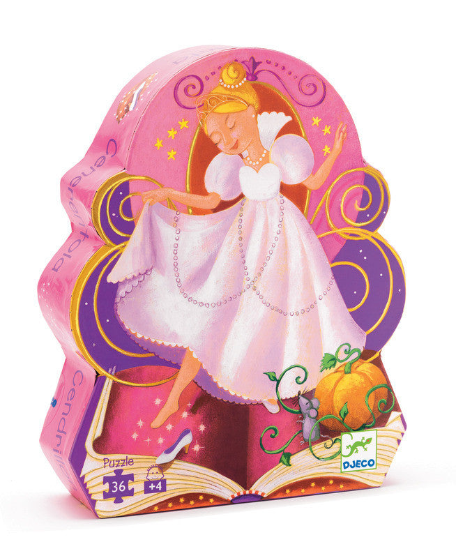 Cinderella 36pc Puzzle - Earth Toys - 1