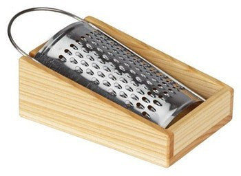 Children's Grater with wooden tray