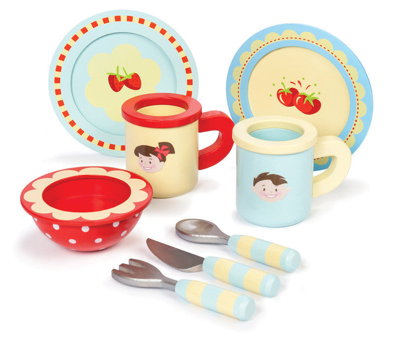 Wooden Play Dinner Set by Le Toy Van - Earth Toys