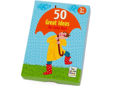 50 Great Ideas for Rainy Days