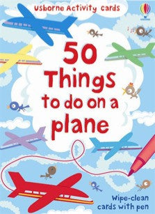 50 Things to do on a Plane - Earth Toys