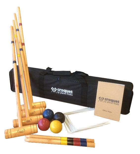 Family Croquet ( 4 Mallet ) - Earth Toys - 1