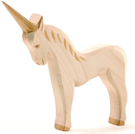 Handcrafted Ostheimer Unicorn - Earth Toys