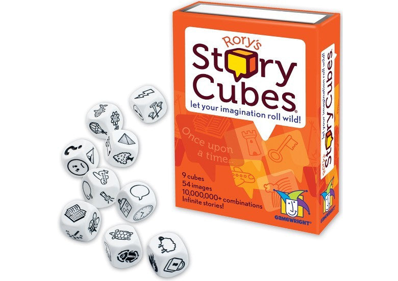 Rorys Story Telling Cubes - Earth Toys