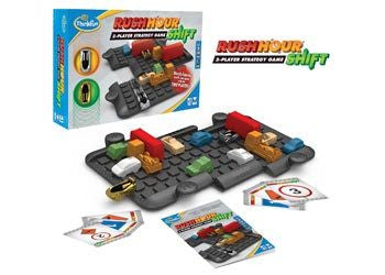 ThinkFun - Rush Hour Shift Game - Earth Toys