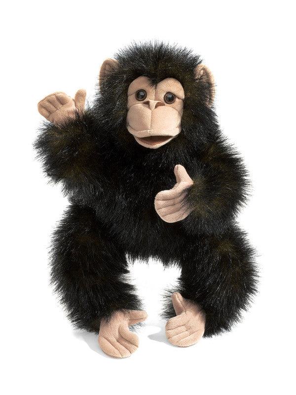 Baby Chimpanzee Puppet - Earth Toys - 1