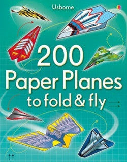 200 Paper Planes to Fold & Fly - Earth Toys