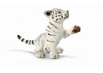 Schleich - Tiger Cub White Playing - Earth Toys
