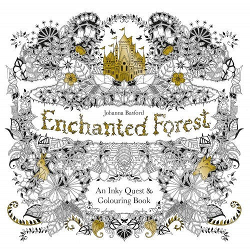 Enchanted Forest - An inky Quest Colour Book - Earth Toys - 1