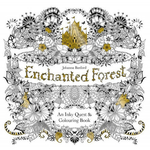 Enchanted Forest - An inky Quest Colour Book