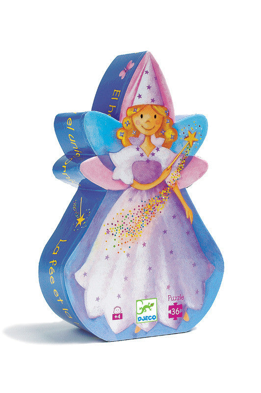 The Fairy & the Unicorn 36pc Puzzle - Earth Toys - 1