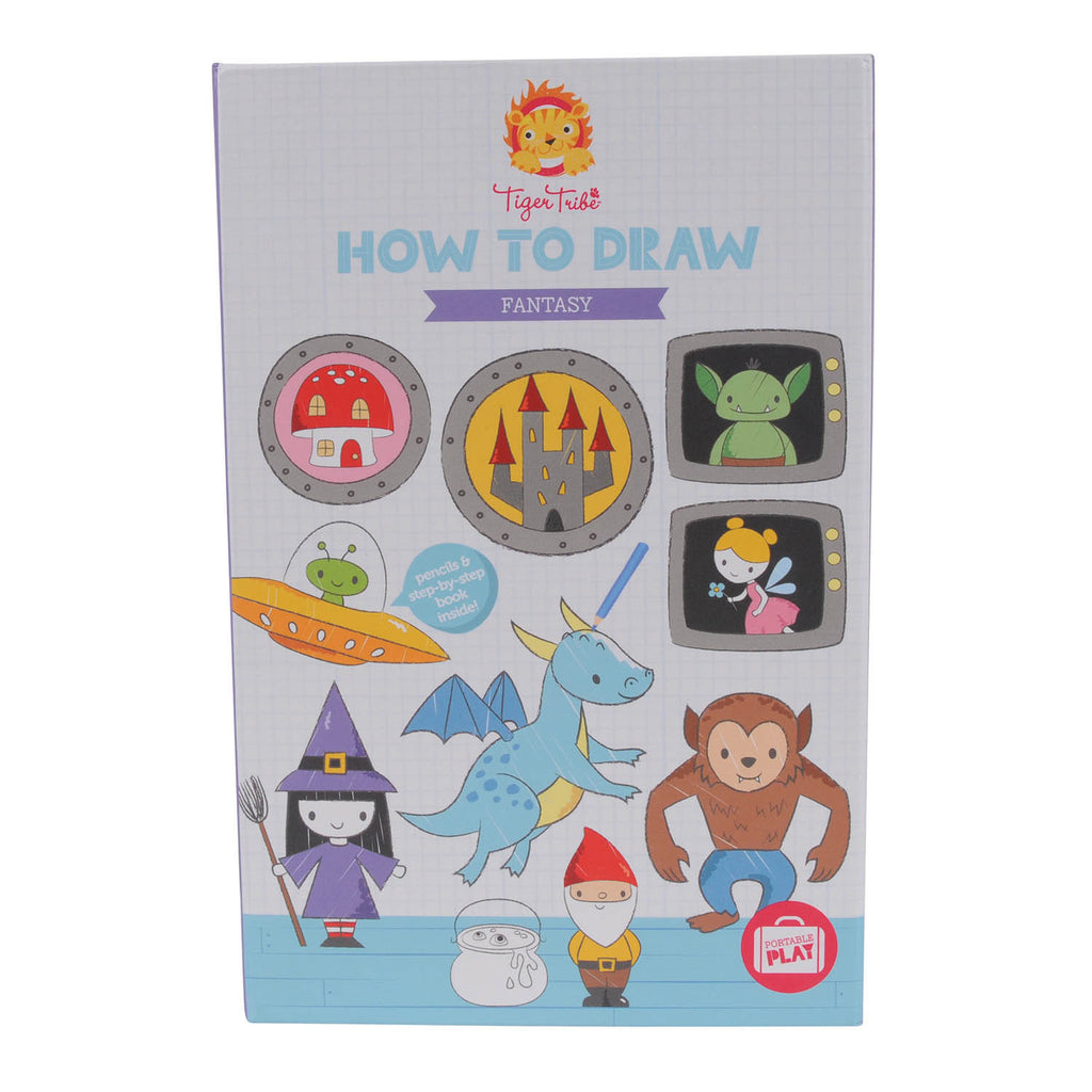 How-to-Draw - Fantasy - Earth Toys - 1
