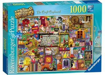 The Craft Cupboard Puzzle 1000pc - Earth Toys - 1