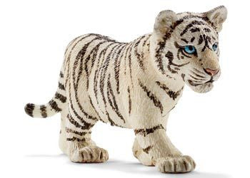 Schleich - Tiger Cub White - Earth Toys