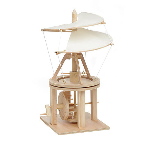 Da Vinci Helicopter Wooden Kit