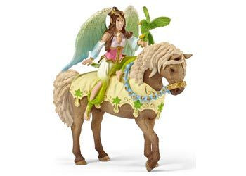 Schleich - Surah in Festive Dress on Horse - Earth Toys