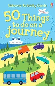 50 Things to do on a Journey - Earth Toys